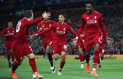 Liverpool của Jurgen Klopp là CLB Anhđầu tiên sau Man Utd thời Ferguson, thể hiện sự thống trị tại Champions League. Ảnh: AFP.