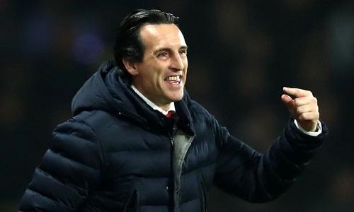 Emery sẽ trở thành HLV đầu tiên bốn lần vô địch Europa League nếu giúp Arsenal đăng quang năm nay. Ảnh: AFP.