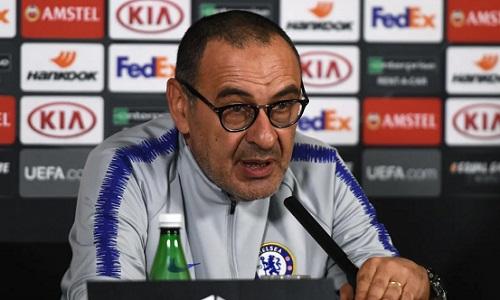 Sarri cho rằng Chelsea xứng đáng có danh hiệu ở mùa này. Ảnh: Chelsea FC.