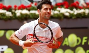Novak Djokovic 2-0 Jeremy Chardy