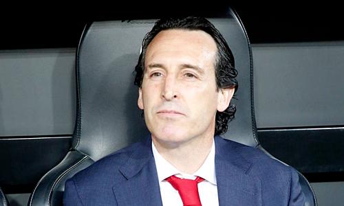 HLV Emery chưa hài lòng cho đến khi Arsenal vô địch Europa League. Ảnh: AP.