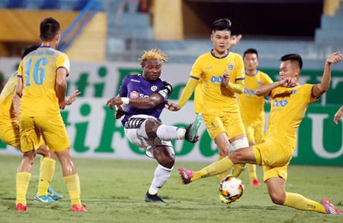 Dưới thời HLV Chu Đình Nghiêm, Hà Nội chưa từng thua Thanh Hóa.