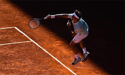 Federer đang có sự tự tin cao trong mùa đất nện năm nay. Ảnh: AFP.