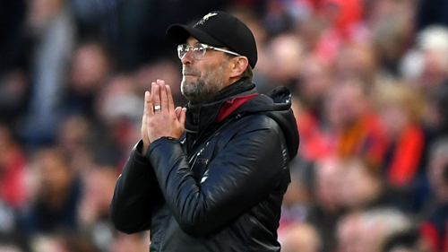 Klopp phải hy vọng vào phép màu cho Liverpool. Ảnh: AFP.