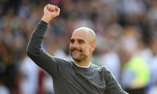Guardiola muốn Man City giành thêmCup FA. Ảnh; AFP.