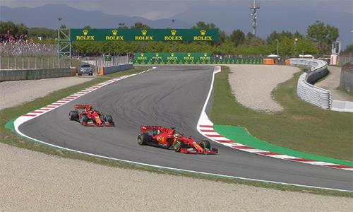 Ferrari có thêm một chặng đua thất vọng khi hai tay đua của họ đều không có mặt trên podium. Ảnh: F1.