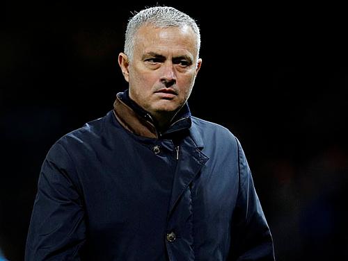 Mourinho trong thời gian dẫn dắt Man Utd. Ảnh:Reuters.