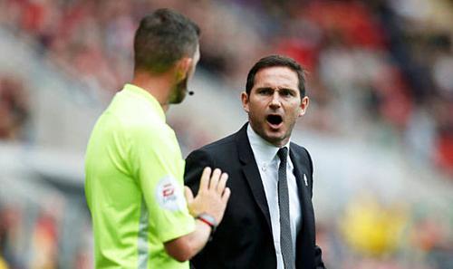 Lampard đang gặt hái thành công bước đầu trên cương vị HLV.