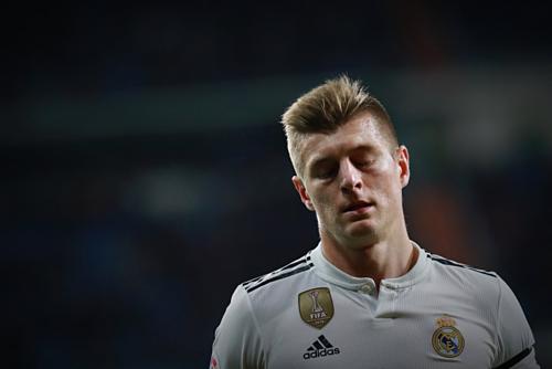 Toni Kroos là cầu thủ PSG muốn có nhất. Ảnh:AFP.