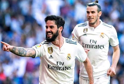Isco và Bale có thể tạo nên sự mới mẻ trên hàng công PSG. Ảnh:AFP.