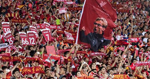 CĐV Liverpool nổi tiếng về độ cuồng nhiệt. Ảnh:AFP.