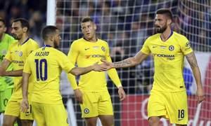 New England 0-3 Chelsea