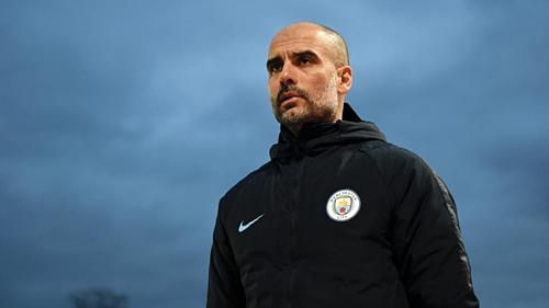 Lệnh cấm của UEFA khiếnthamvọng xưng bá châu Âu của Man City và Guardiola gặp nhiều khó khăn. Ảnh:Reuters.