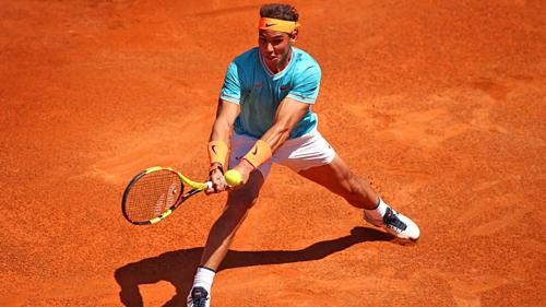 Nadal chỉ thua một game trong cả trận đấu này.