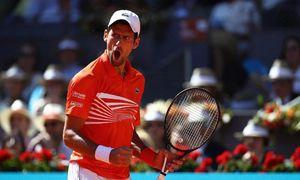Novak Djokovic 2-1 Diego Schwartzman