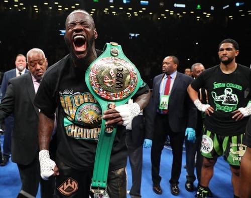 Wilder giữ đai WBC thế giới suốt từ tháng 1/2015. Ảnh: Reuters.