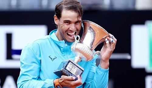 Nadal đoạt danh hiệu thứ 9 ở Rome Masters.