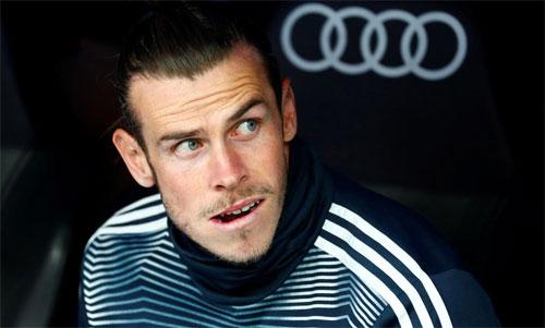Bale bị chê có thái độ luyện tập thiếu tích cực. Ảnh: Reuters