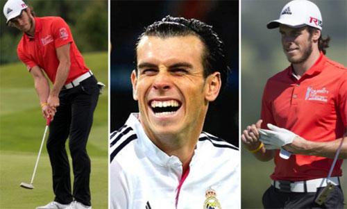 Ngoài bóng đá, Bale có sở thích chơi golf.