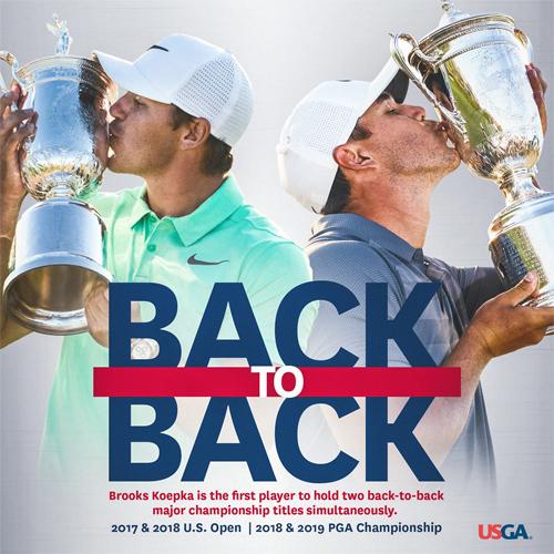 Koepka là golfer đầu tiên vô địch hai sự kiện major ở hai mùa liên tiếp, gồm US Open (2017, 2018) và PGA Championship (2018, 2019).