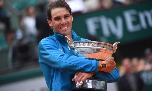 Nadal hướng tới danh hiệu thứ 11 tại Roland Garros. Ảnh: Reuters.