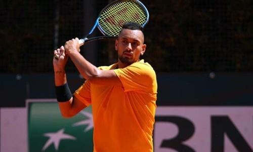 Kyrgios rút lui khỏi Roland Garros sau khi chê giải Grand Slam này. Ảnh: AP.