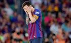 Messi cúi đầu trong thất bại chung kết Cup nhà Vua