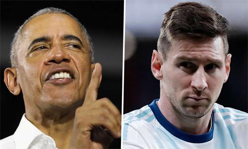 Obama chê Argentina thờiMessi không phải là một đội bóng thực sự.