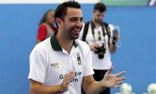 Xavi có nhãn quan chiến thuật và khả năng chuyền xuất sắc khi còn là cầu thủ. Ảnh: Reuters