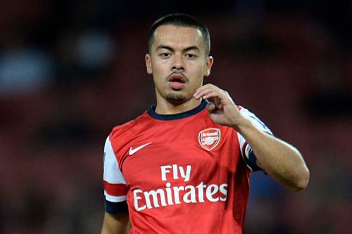 Cầu thủ có mẹ là người Trung Quốc khi còn khoác áo Arsenal.