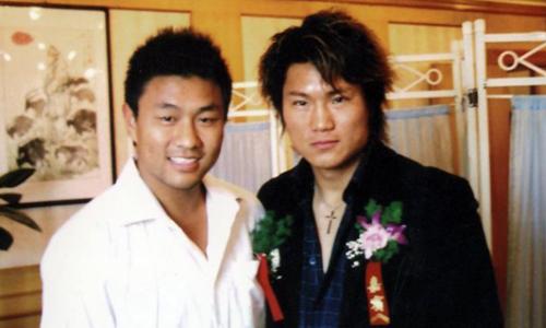Tôn Vũ (phải) từng học tán thủ, trước khi bái Trần Tiểu Vượng làm sư phụ.