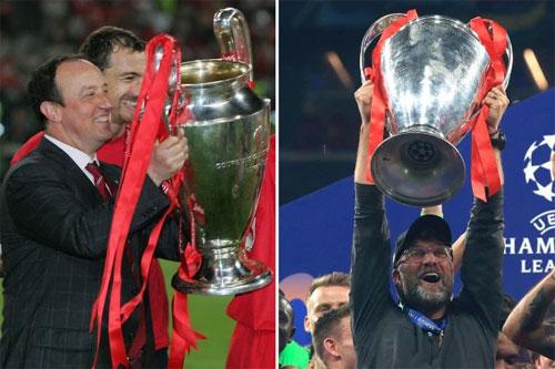 Klopp lập lại thành công mà Liverpool từng có dưới thời Benitez.