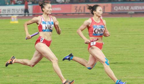 Quách Thị Lan là VĐV được đầu tư trọng điểm của thể thao Việt Nam.