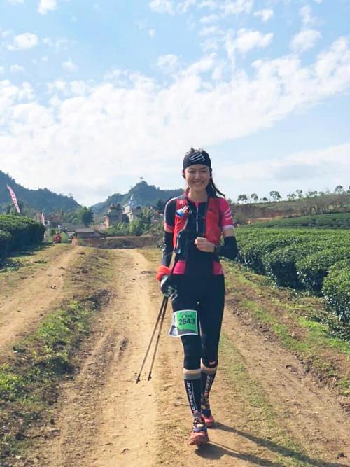Hoa hậu Thu Thủy chăm chỉ luyện tập trước mỗi giải chạy marathon.