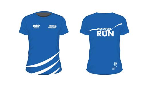 Mẫu áo dành cho tất cả vận động viên tham gia VnExpress Marathon.