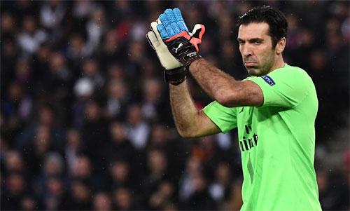 Buffon chưa giành được Champions League như mong muốn. Ảnh: Reuters