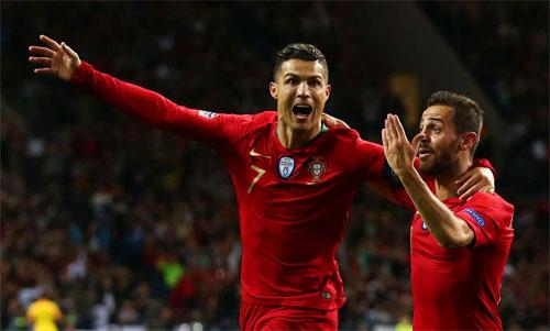Ronaldo đang mong cùng Bồ Đào Nha giành Nations League.