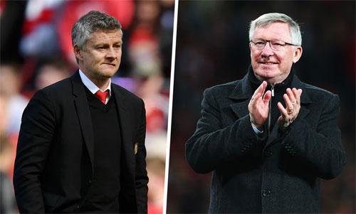 Man Utd hoàn toàn mất phương hướng sau khi Alex Ferguson (phải) ra đi.