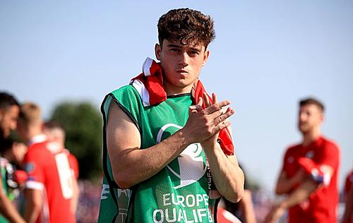 James đang tập trung cùng tuyển xứ Wales chuẩn bị cho trận gặp Hungary ở vòng loại Euro 2020. Ảnh:PA.