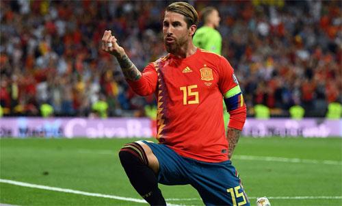 Tây Ban Nha không có đối thủ xứng tầm ở vòng loại. Ảnh: Reuters