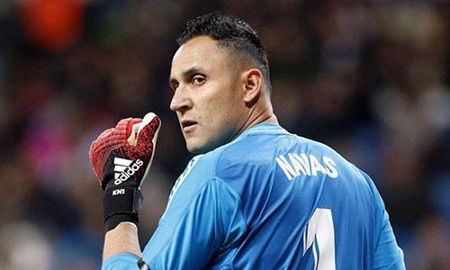 Navas muốn được gia nhập PSG, thay vì ở Real làm dự bị cho Courtois. Ảnh: Reuters.