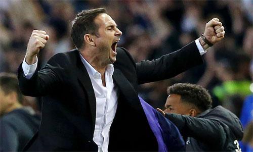 Lampard gây ấn tượng sau một mùa làmHLV tại Derby County. Ảnh: Reuters