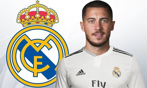 Hazard được kỳ vọng sẽ giúp Real hồi sinh.