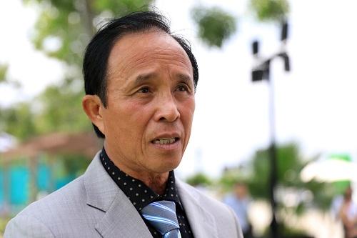 Ông Huỳnh Trọng Khải, Chủ tịch Liên đoàn Bóng rổ TP HCM.