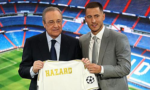Hazard muốn làm nên lịch sử cùng Real. Ảnh: Reuters.