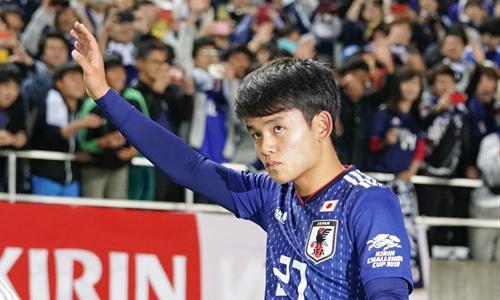 Kubo là thành viên tuyển Nhật dự U20 World Cup 2017, dù khi ấy mới 16 tuổi.