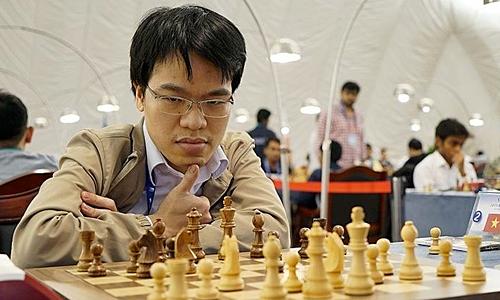 Quang Liêm vẫn là lá cờ đầu của cờ vua Việt Nam. Ảnh: IMSA.
