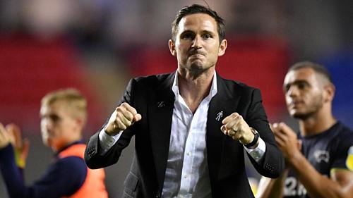 Lampard còn hai năm hợp đồng với Derby. Ảnh:AFP.