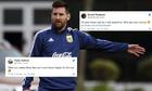 Messi bị chế giễu sau trận thua của Argentina