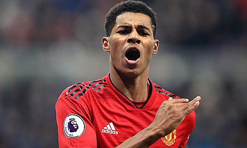 Rashford yêu cầu mức lương 440.000 USD để ở lại Man Utd. Ảnh: AFP.